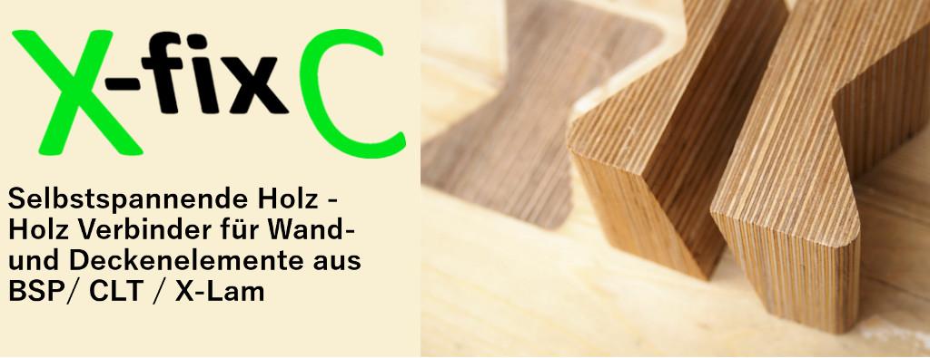 X-Fix C Holz - Holz Verbinder